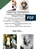Cleaving Clientelism Berlin May 2010