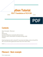 VLSI CAD Python Tutorial