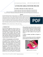 Development of Automated Aerial Pesticide Sprayer