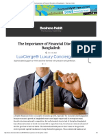 The Importance of Financial Discipline in Bangladesh _ Business Habit