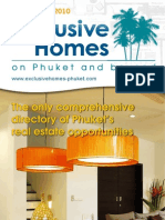 Exclusive Homes Phuket June-August 2010