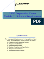Module II - Requirements