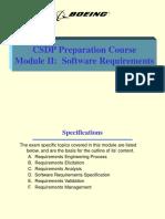 Module II - Requirements
