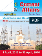 Edristi Current Affairs April 2016