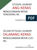 Label Laundry