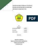 Laporan Praktikum KFA II Isoniazid