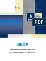 Curso de Bitácora Electrónica de Obra Pública