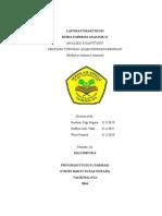 Laporan Praktikum KFA II Nipagin