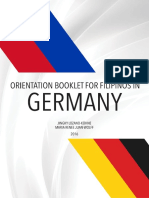 Orientation Booklet for Filipinos in Germany 2016