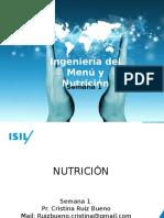 Semana 1. Nutrici�n