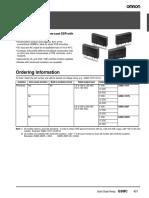 Omron G3MC 202P DC5 Datasheet