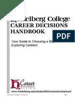Career Decisions Handbook