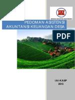 Panduan Asistensi Akuntansi Dana Desa