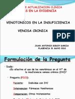 Venotónicos en la insuficiencia venosa crónica, Sesiones de actualización basadas en la evidencia para residentes de MFyC