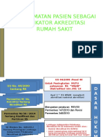 Patient Safety Indikator Akreditasi