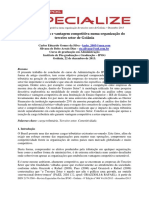 Carga Tributaria e Vantagem Competitiva Numa Organizacao Do Terceiro Setor de Goiania 8171668