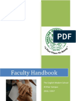 faculty handbook 2016-17 al khor
