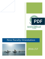 new staff orientation handbook - al khor 16-17