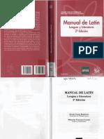 Manual de Latín