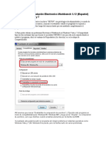 Instrucciones Instalación Electronics Workbench 5.12 Windows Vista y 7