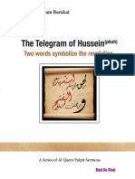 The Telegram of Hussein