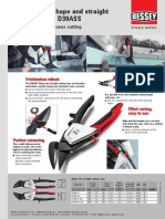 ERDI Shape and Straight Cutting Snips D39ASS