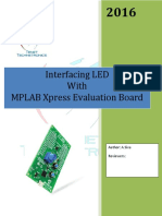 MPLAB Xpress Evaluation Board LED BLINK