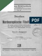 Studien über nordeuropäische Fibelformen