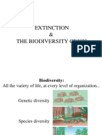 Lect 27 - Extinction & Biodiversity Crisis