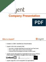Joyent Presentation