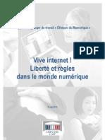 Rapport UMP - L'éthique du Numérique