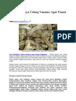 Koleksi Contoh Proposal Usaha Budidaya Kepiting Kumpulan Contoh