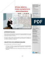 Visao Conceitual Basica Fases Do Metodo Estatistico Nocoes Amostragens