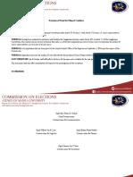 COMELEC Resolution No. 201604