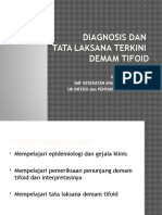 Diagnosis Dan Tatalaksana Demam Tifoid