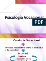 Conducta Vocacional