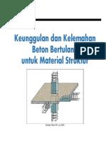 1.3 Keunggulan Dan Kelemahan Beton Bertulang Untuk Material Struktur