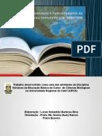 Estrutura do Sistema Educacional Brasileiro