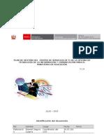 Plan de Gestion Del Centro de Servicios de TI Centralizado v1 - 30 de Julio Del 2015