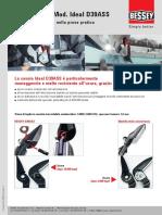 ERDI Cesoia Mod. Ideal D39ASS