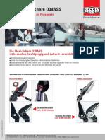 ERDI Ideal-Schere D39ASS