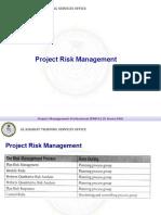 009 - Project Risk Management