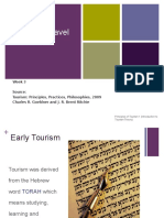 History of Travel and Tourism