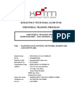 practical trainee report