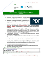 HSE Application Form Area Lead of Service Userfamilycarer