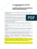 SUT-SIIL Temas Seguridad y Salud Ocupacional
