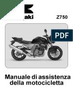 ZR750J1 Manuale Di Officina