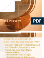 US History-Chapter 3