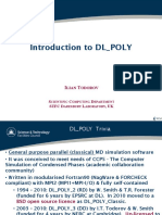Dl Poly Intro