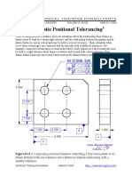 Composite Positional Tolerancing